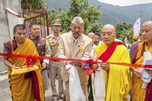 Opening Ceremony Nyingma Instiute, Martam by Honourable Governor Of Sikkim